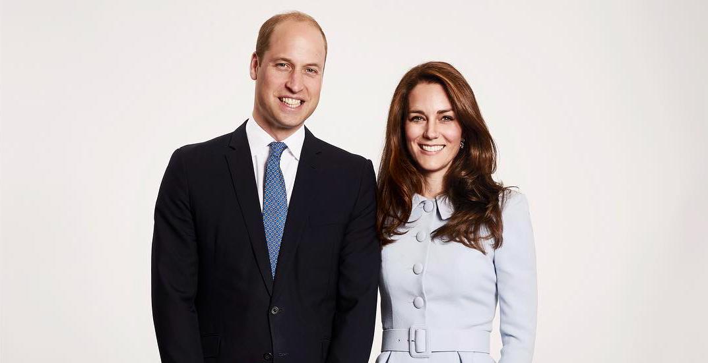 Опубликован рождественский портрет принца Уильяма и Кейт Миддлтон с детьми