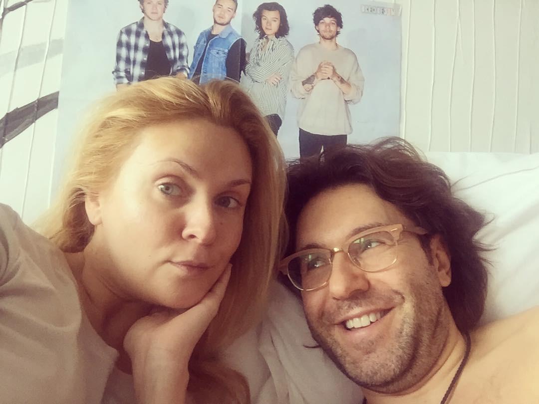 Первое фото Андрея Малахова и Натальи Шкулевой после рождения сына
