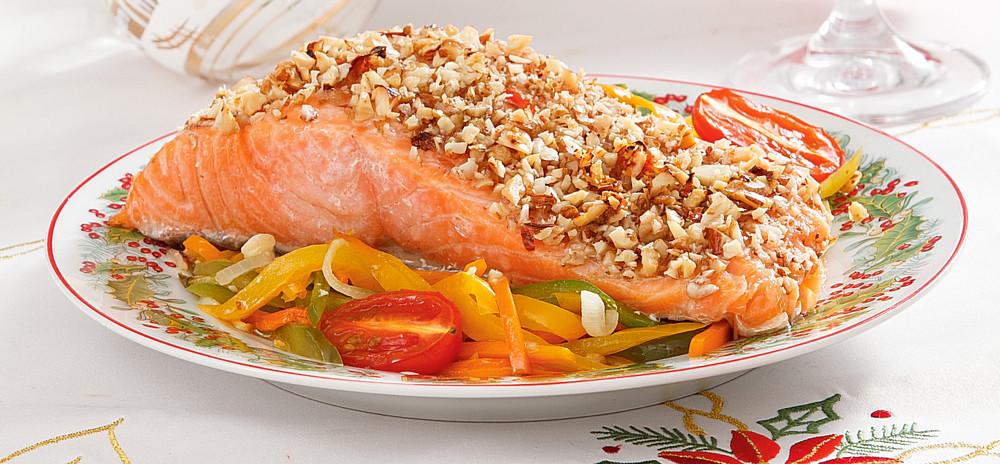 рыба под ореховым соусом с фото несколько