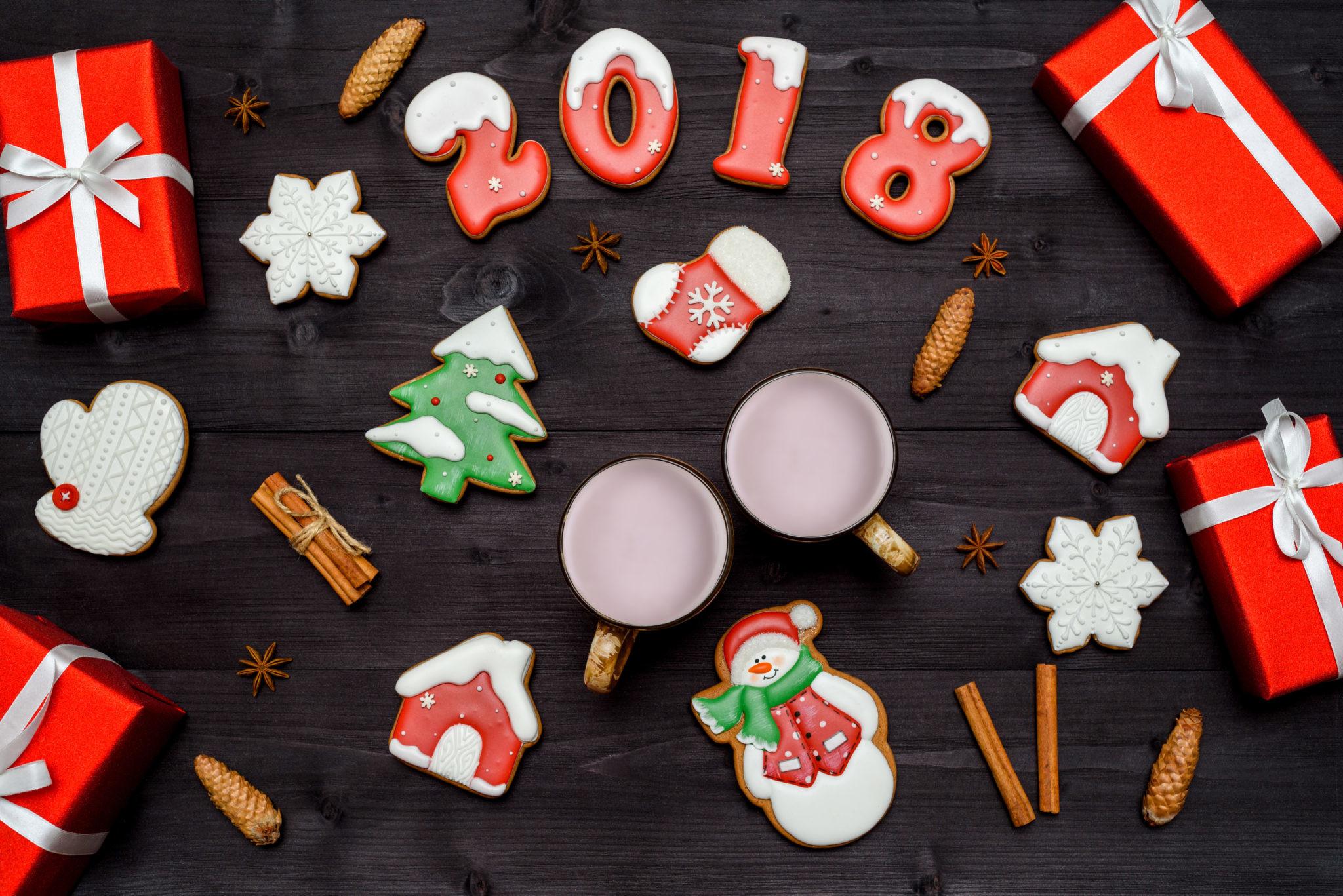 Сладкие подарки на Новый год