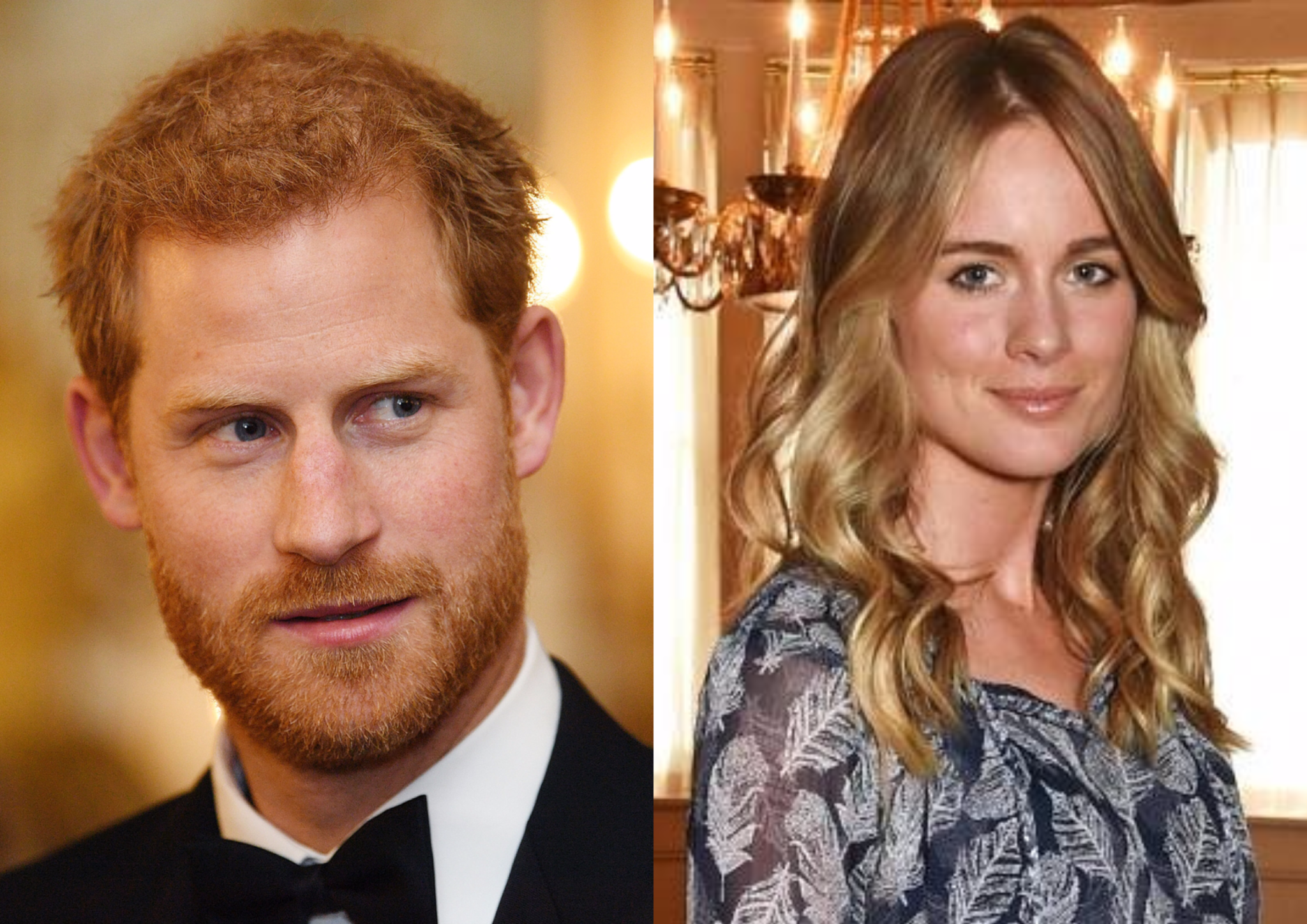 Принц Гарри встретился со своей бывшей возлюбленной