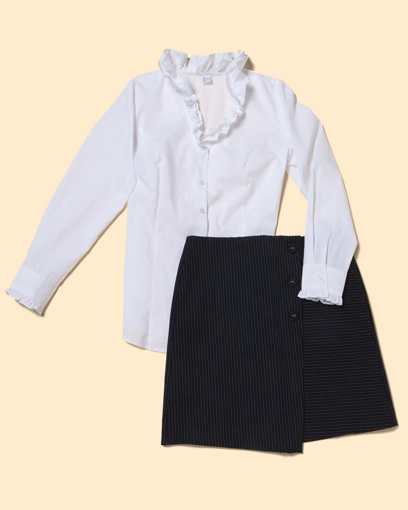 Модная офисная одежда: 4 варианта в пределах 3000 рублей