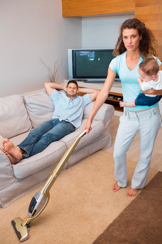 Как научить мужа убирать за собой