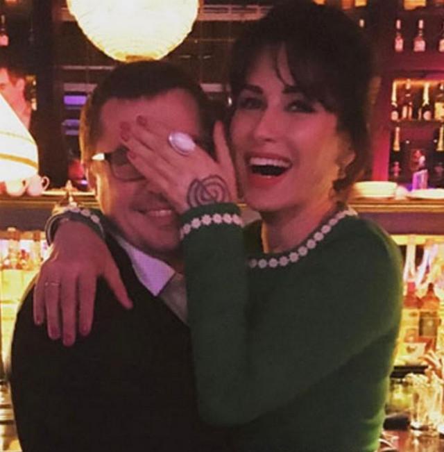 Тина Канделаки тепло поздравила мужа с 30-летием