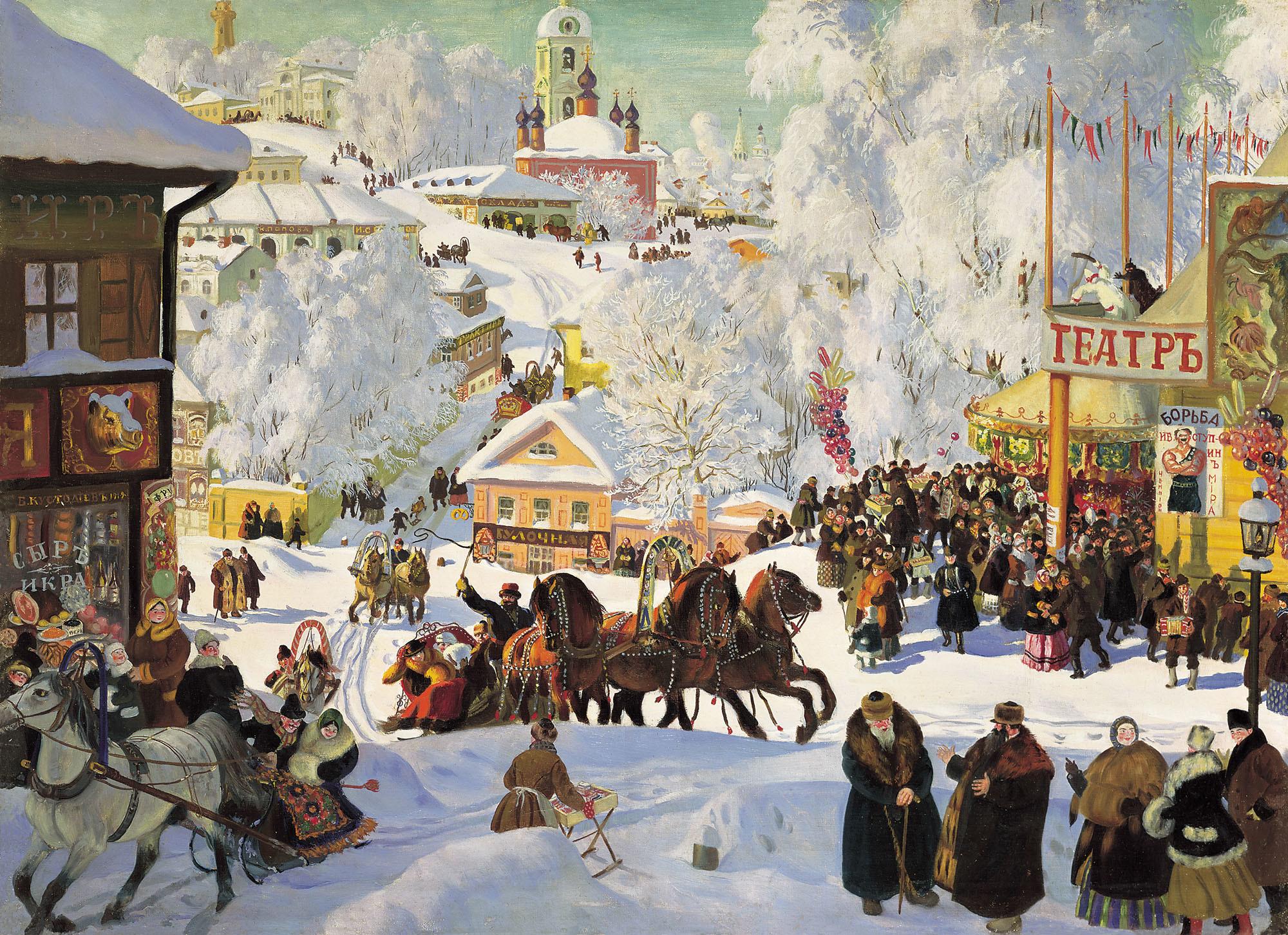 В рамках фестиваля «Московская Масленица» пройдет 30 бесплатных экскурсий