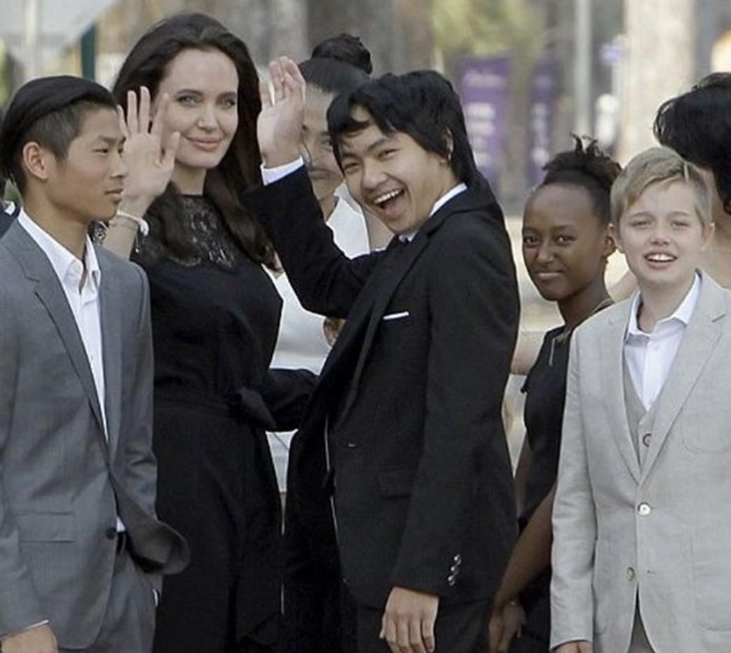Старшего приемного сына Джоли и Питта хочет забрать родной отец