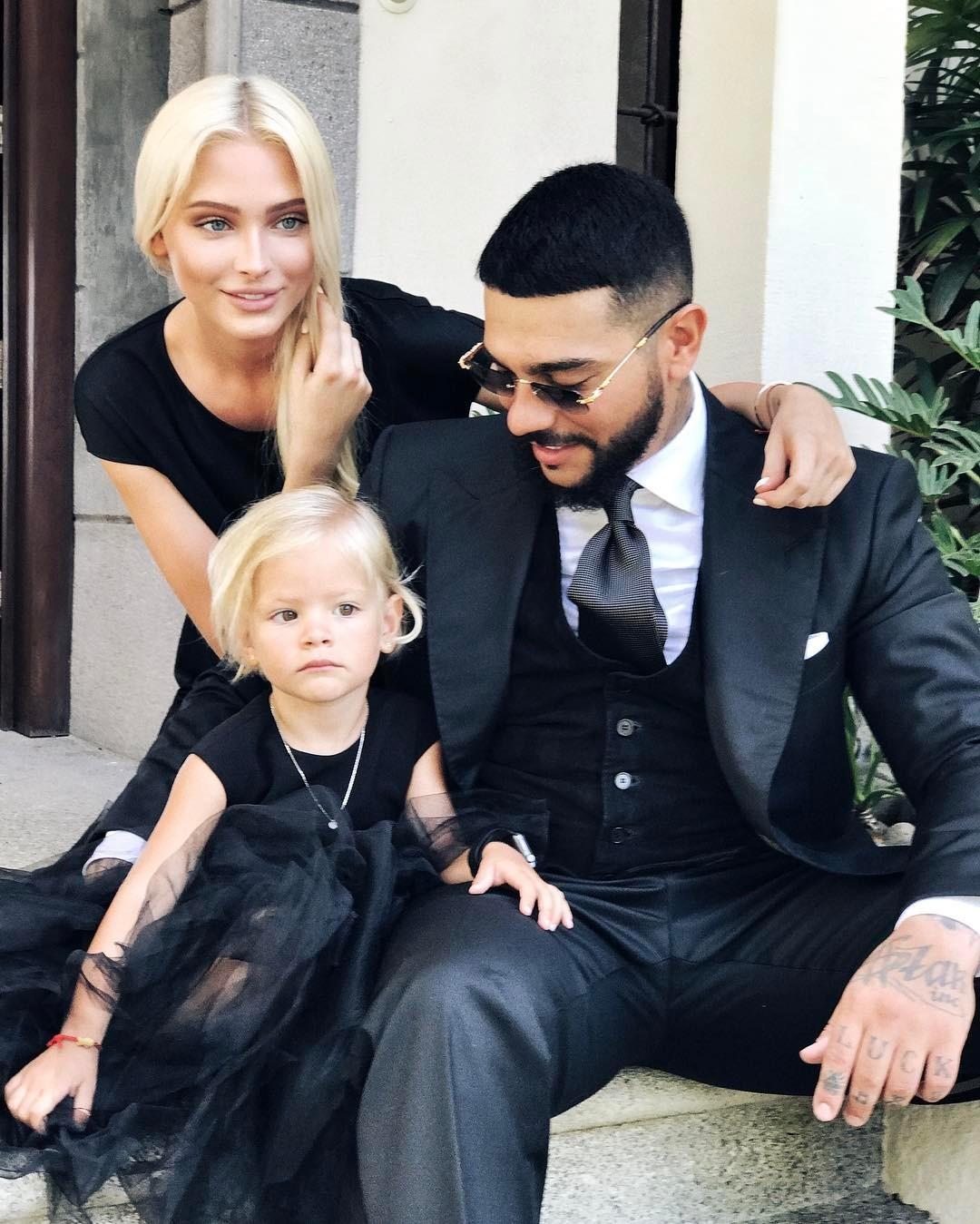 Тимати и Алена Шишкова вместе отпраздновали трехлетие дочери