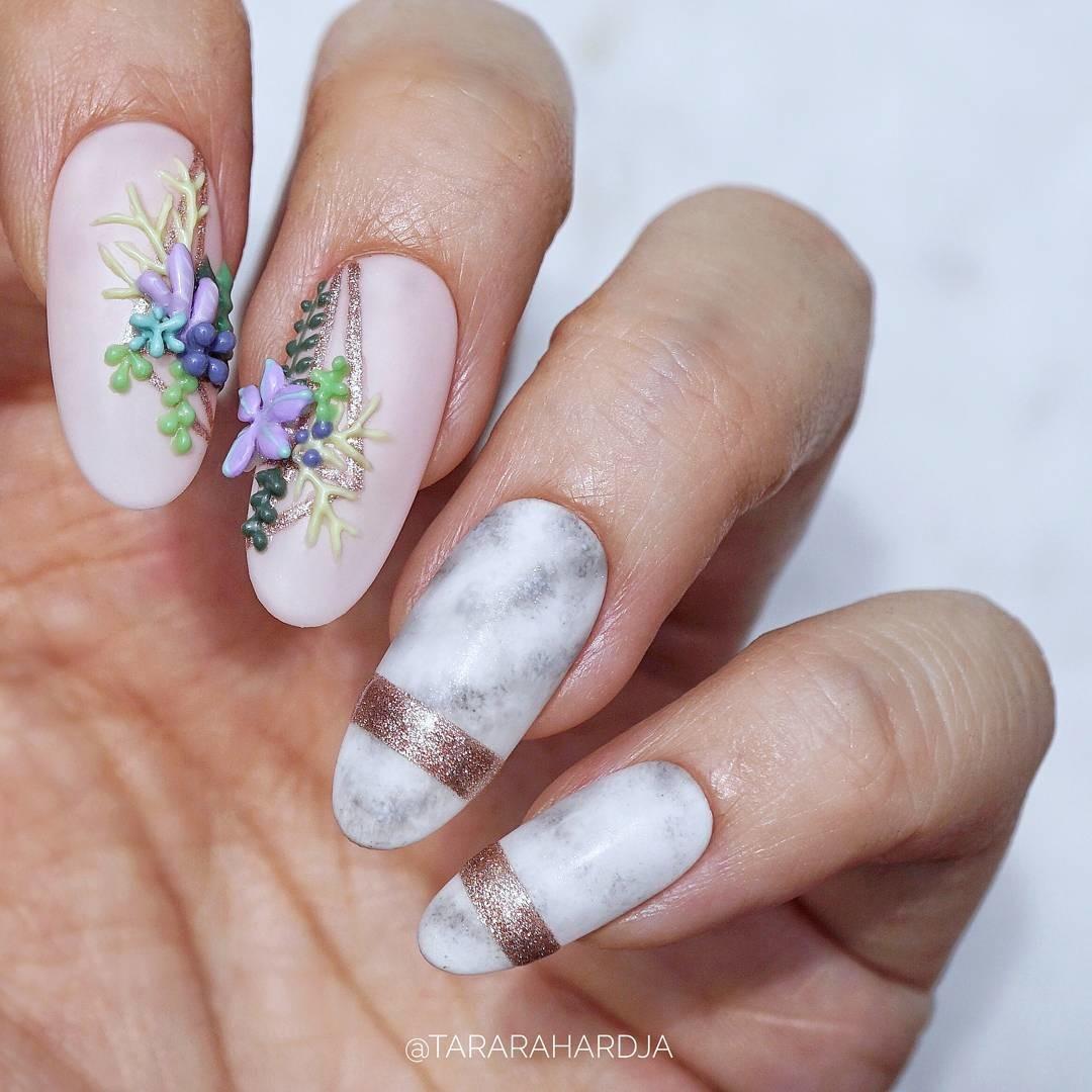Тренд маникюра 2017: аппликации на ногтях