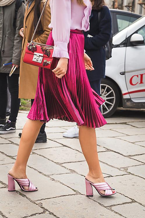 С чем носить юбку-плиссе: модный лайфхак