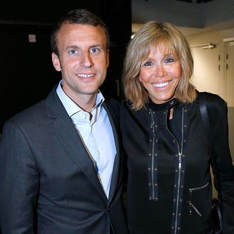 Новый президент Франции дал отпор хейтерам, критикующим возраст его жены