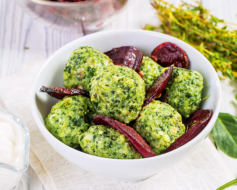 Блюда со шпинатом (фото)
