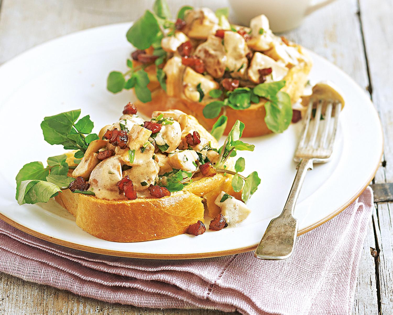 Вкусные и необычные тосты: рецепты с фото