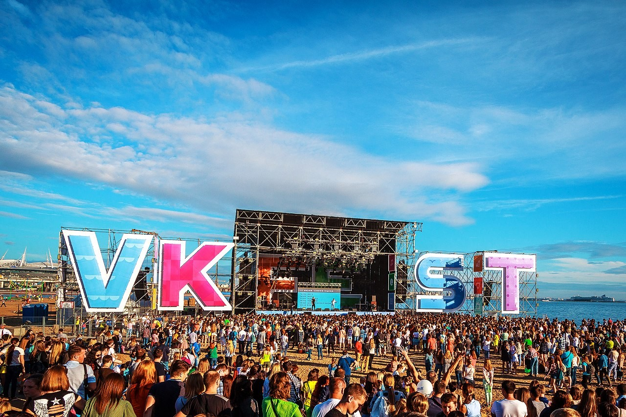 ВКонтакте объявила хедлайнеров третьего VK Fest