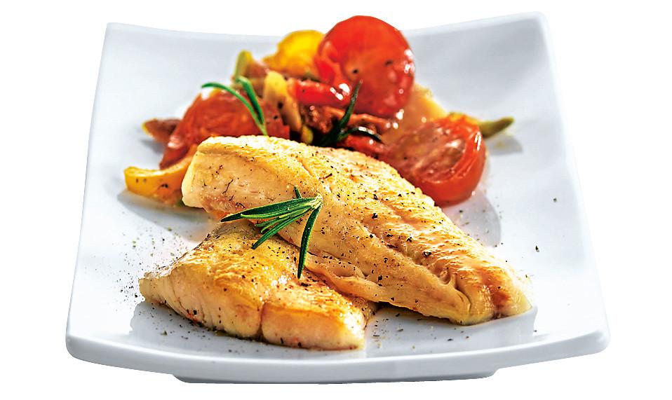 Филе рыбы с маринадом из киви (фото)