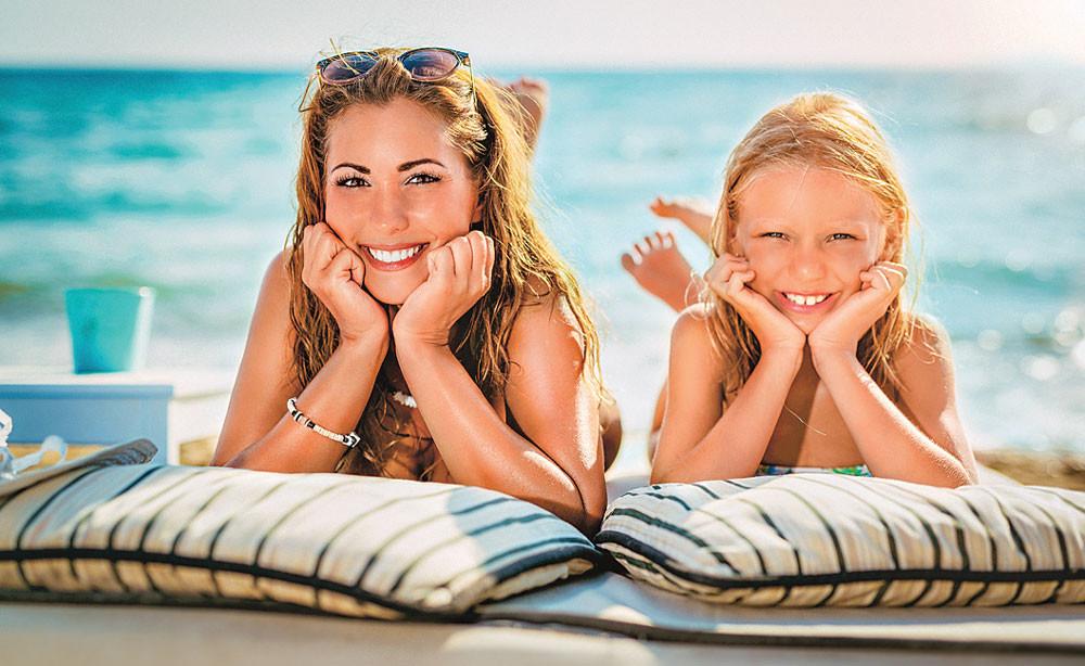 Как сохранить красоту во время отдыха на море