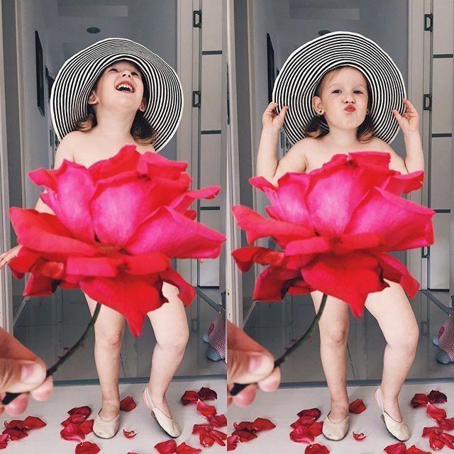 Мама наряжает дочку во «фруктово-овощные» платья (фото)