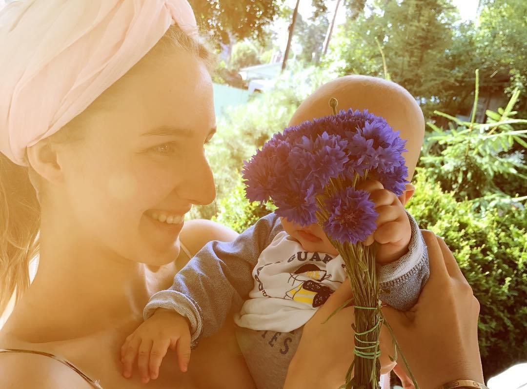 Сын Ксении Собчак поздравил сестру с днём рождения (фото)