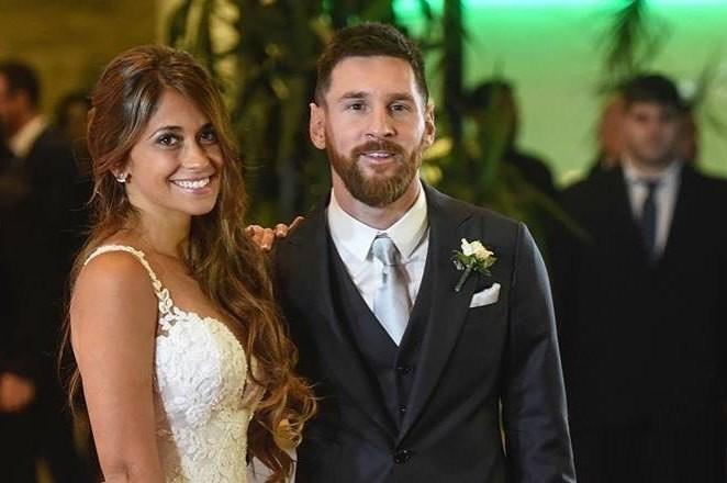 Первые фото и видео с роскошной свадьбы Лионеля Месси