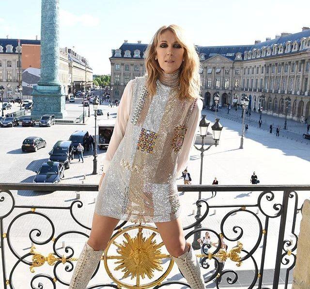 Селин Дион обнажилась для журнала Vogue (фото)