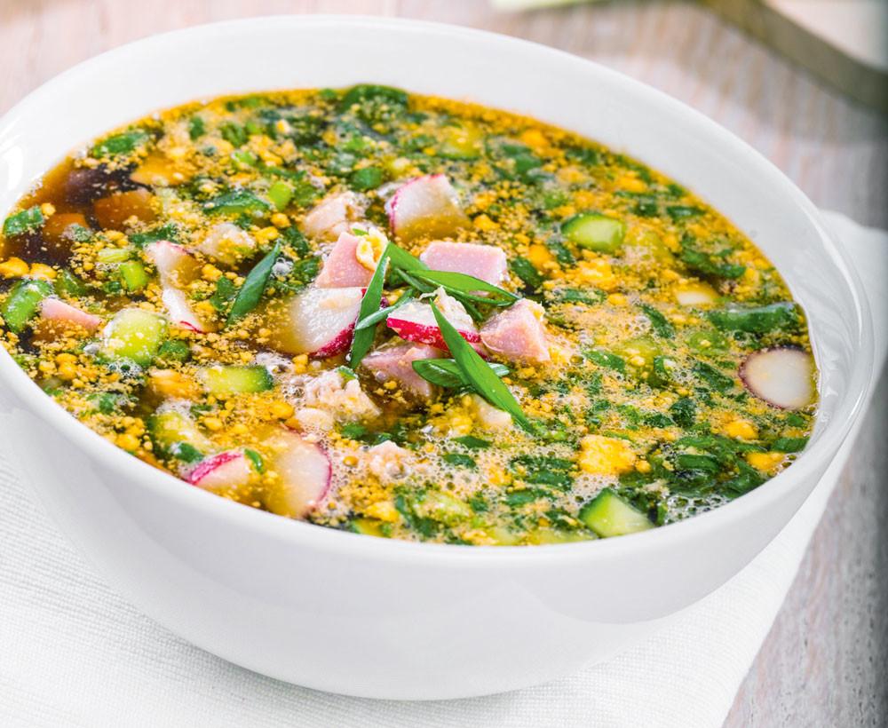 Топ-4: рецепты холодных летних супов