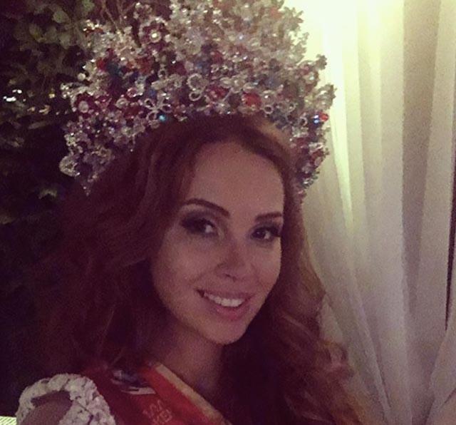 Жена Дмитрия Диброва стала победительницей «Миссис Россия 2017»