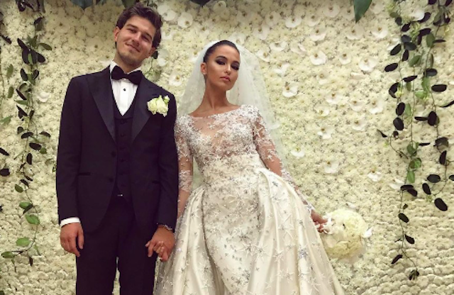 Все о свадебном платье дочери Михаила Турецкого