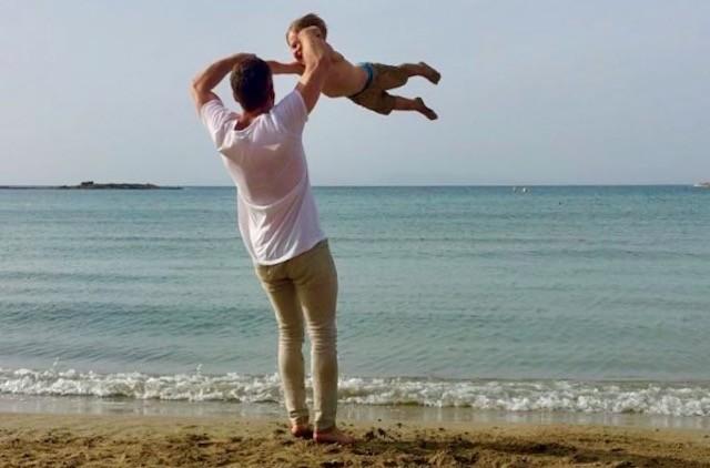 Новое трогательное фото Дмитрия Шепелева с сыном