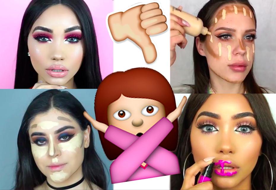 Колхозный мейкап: самые распространенные ошибки в макияже