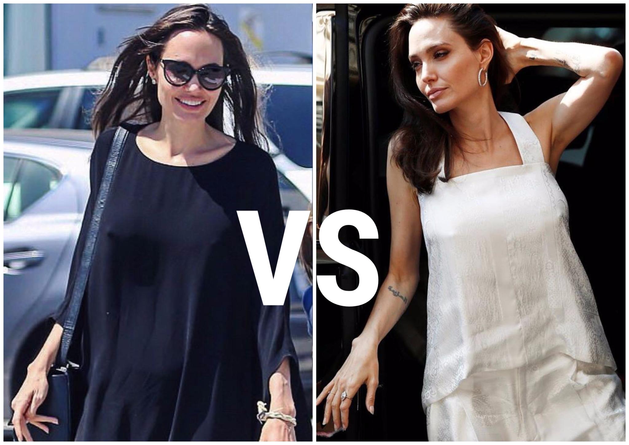 Почему Анджелина Джоли полюбила белые платья?