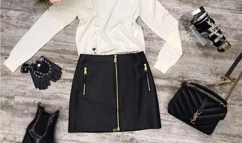 Вопрос стилисту: уместно ли носить кожаные вещи в офис?