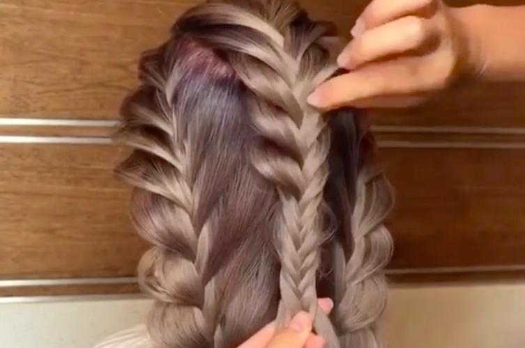 Видео: плетение сказочных кос