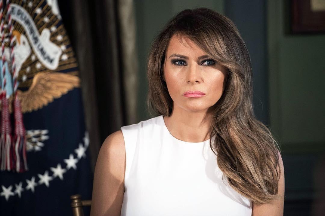 В сети раскритиковали постановочные фото Меланьи Трамп