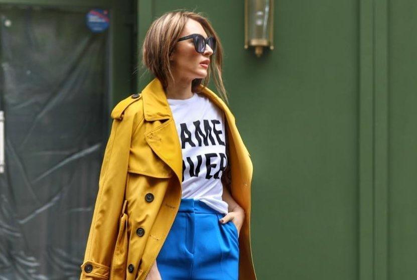 Вопрос стилисту: с чем и как носить заправленную футболку?