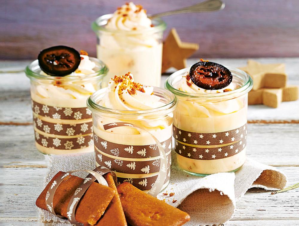 На десерт: сливочный крем с пряником