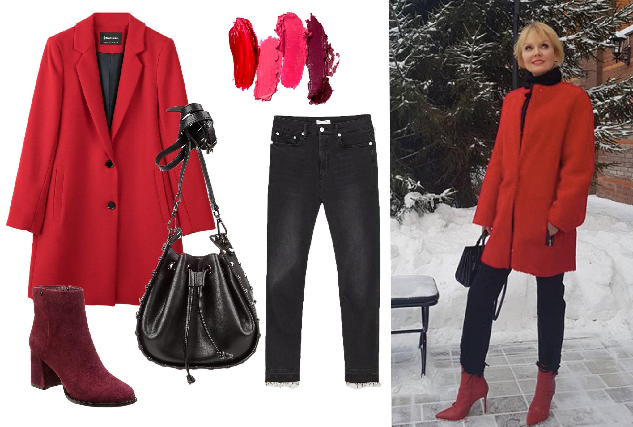 Как женственно одеться зимой в стиле певицы Валерии?