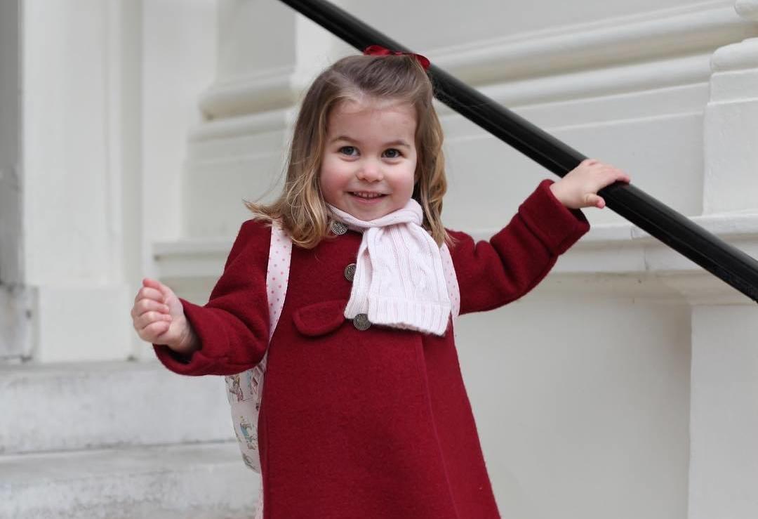 Принцесса Шарлотта пошла в детский сад за 1 млн рублей
