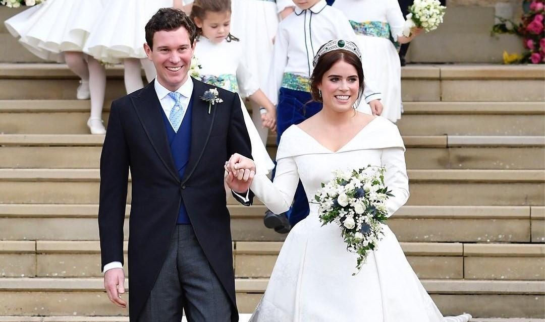 Внучка Елизаветы II вышла замуж: самый звездный фотоотчет