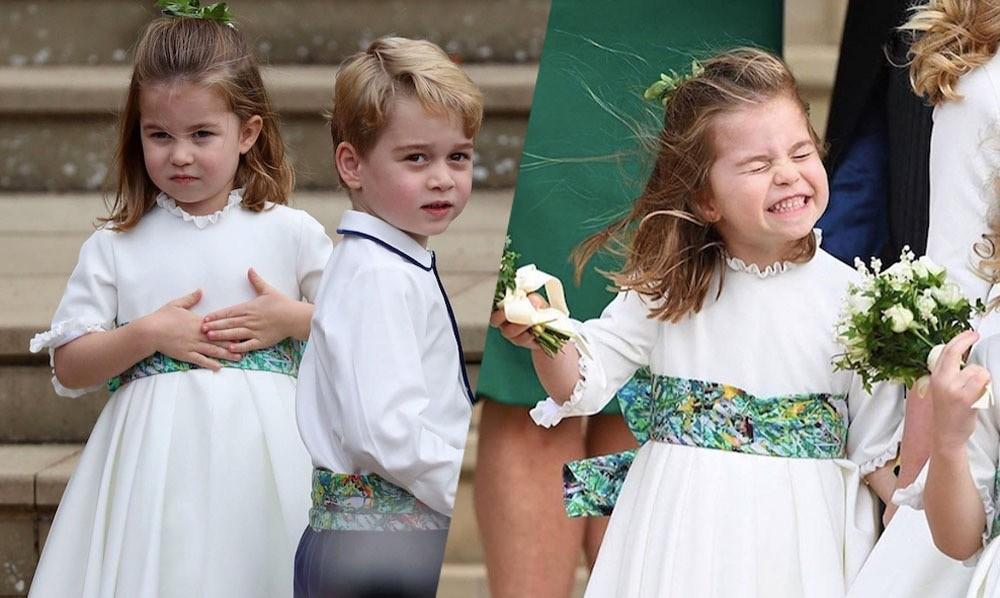 Королевские проказники! В Сети обсуждают поведение младших членов королевской семьи на свадьбе принцессы Евгении