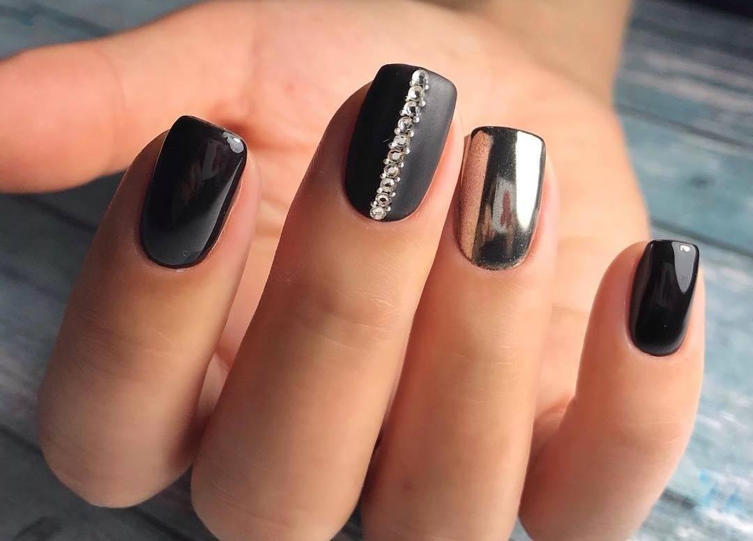 качестве картинки черных ногтей с втиркой нашли самые