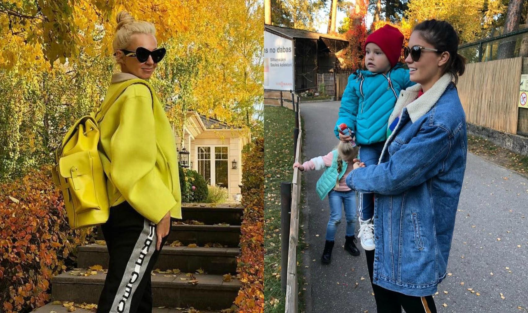 Фото с листьями и не только: Яна Рудковская, Агата Муцениеце и другие звезды показали свою золотую осень