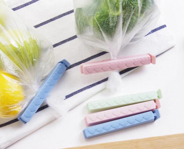 Пластиковые зажимы дляпакетов