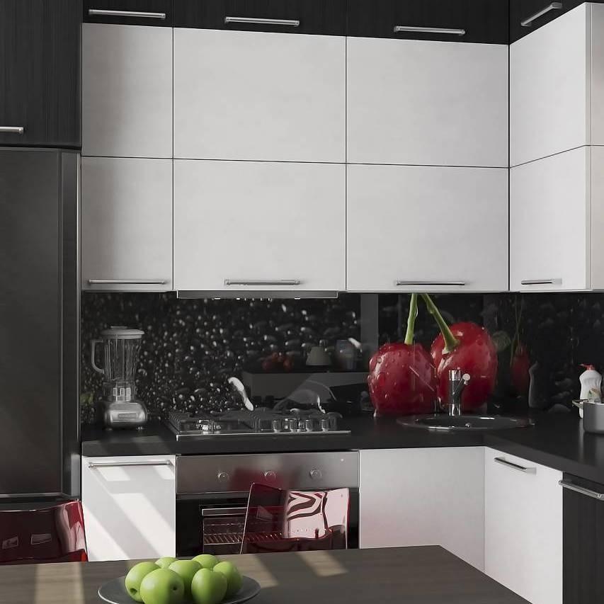 Подобные кухонные изыски в интерьеры выглядят, как минимум, странно. А еще это просто бессмысленно и довольно дорого. Ни «капли воды», ни «спелая вишня» не добавят твоей кухне стиля - нап...
