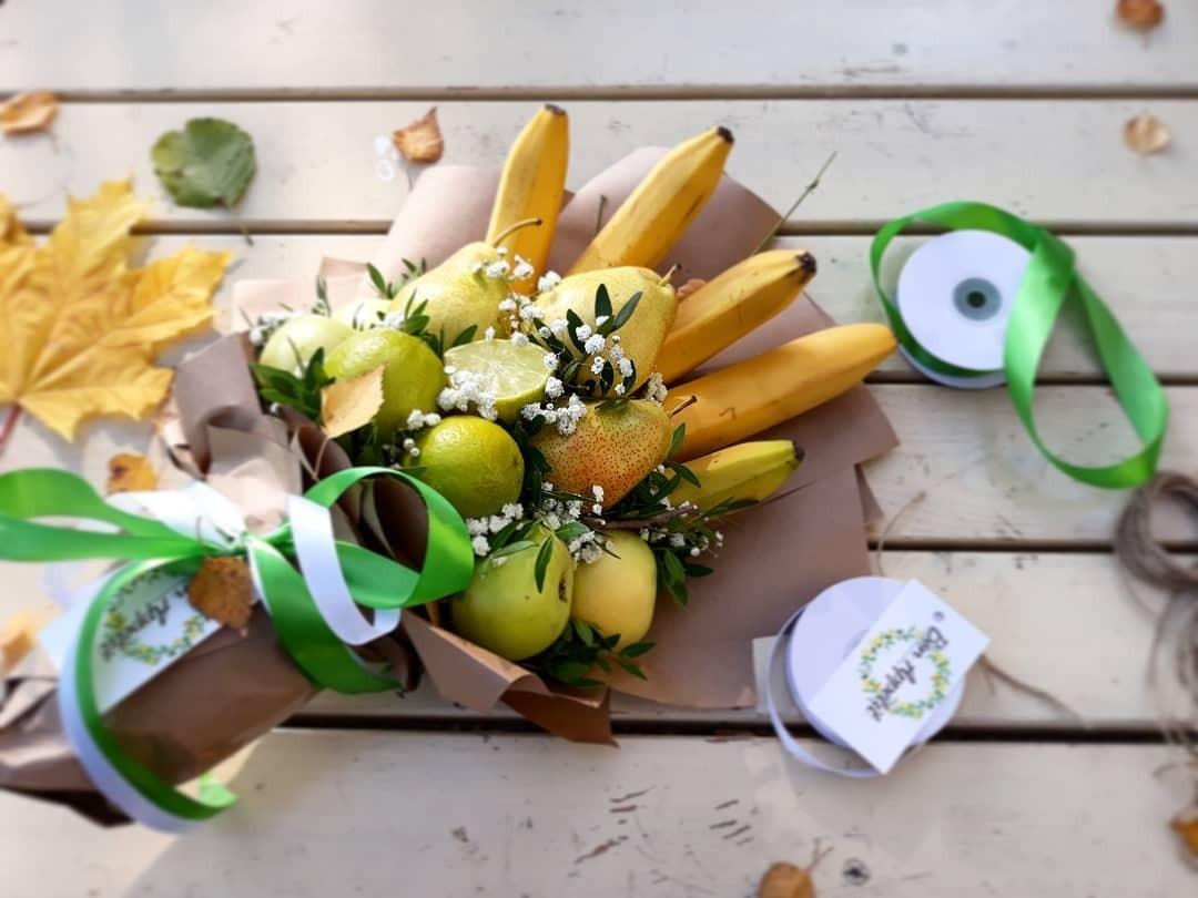 Букет фруктов своими руками: подборка идей и советов
