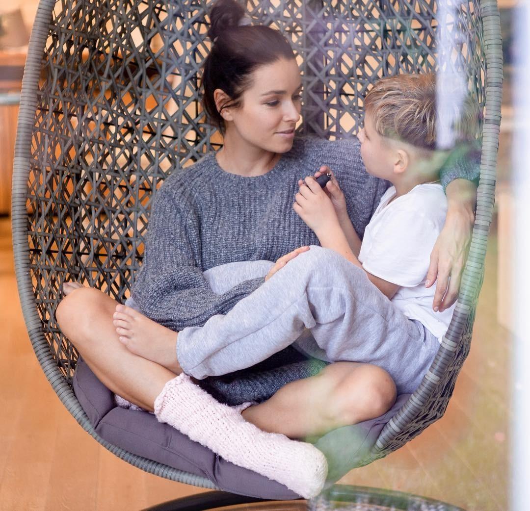 Ирена с супругом, Александром Г...
