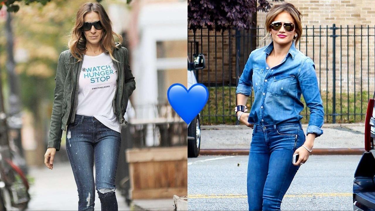 5 идей, как носить джинсы-скинни этой осенью женщине за 40