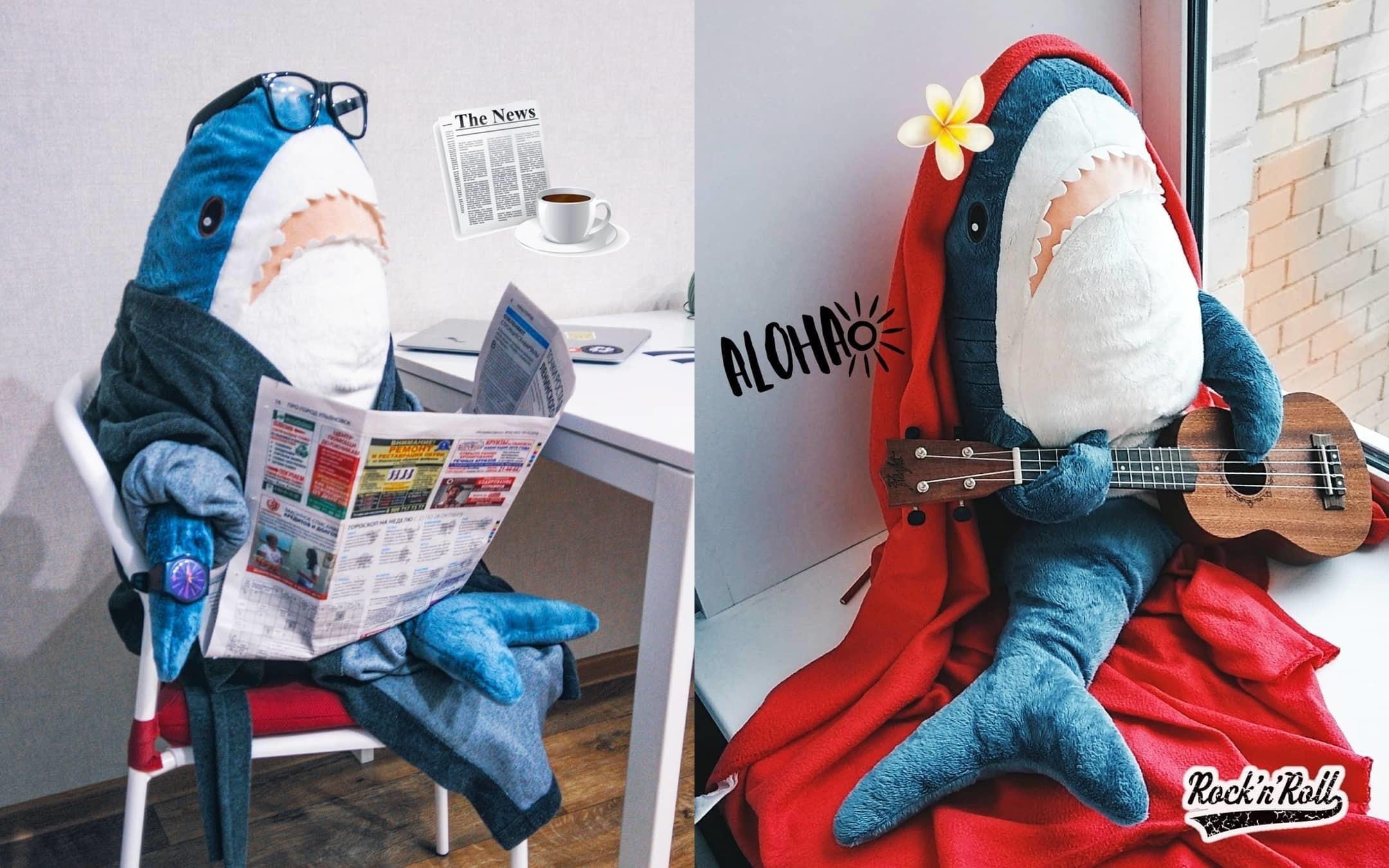 Акула из IKEA взорвала соцсети: плюшевая игрушка, на которой помешались все взрослые
