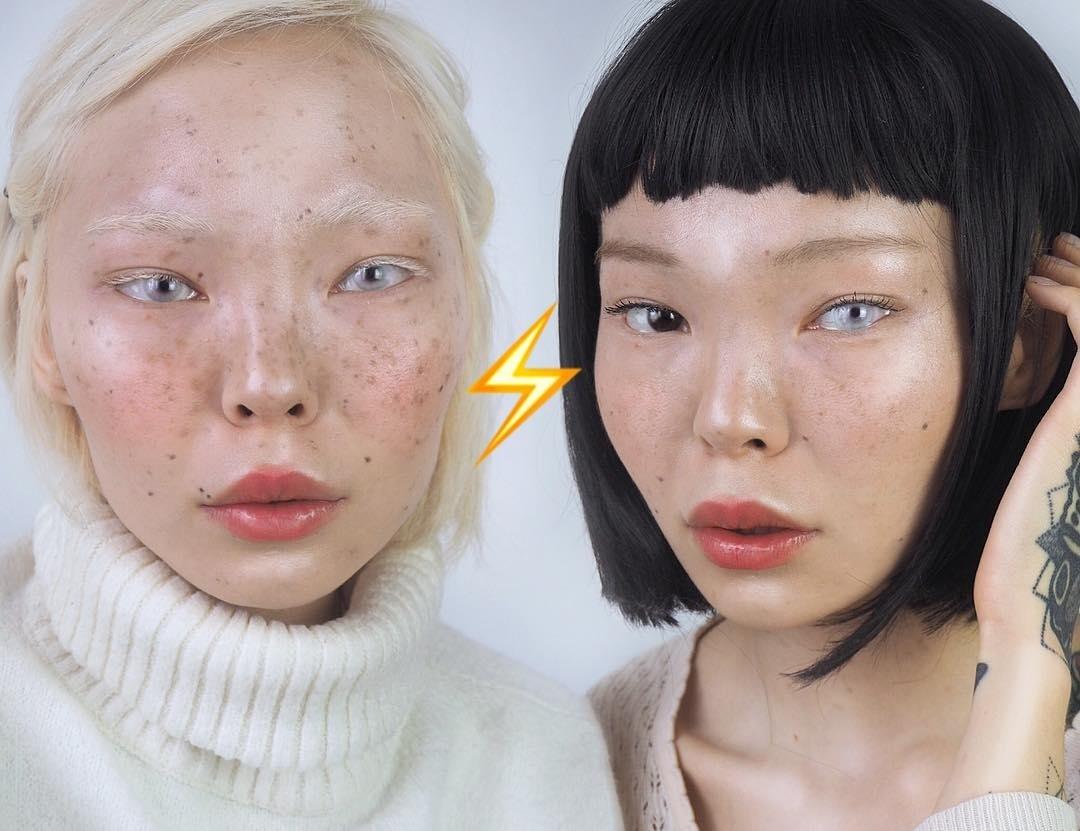 Магически красиво: глаза разного цвета — новый необычный бьюти-тренд