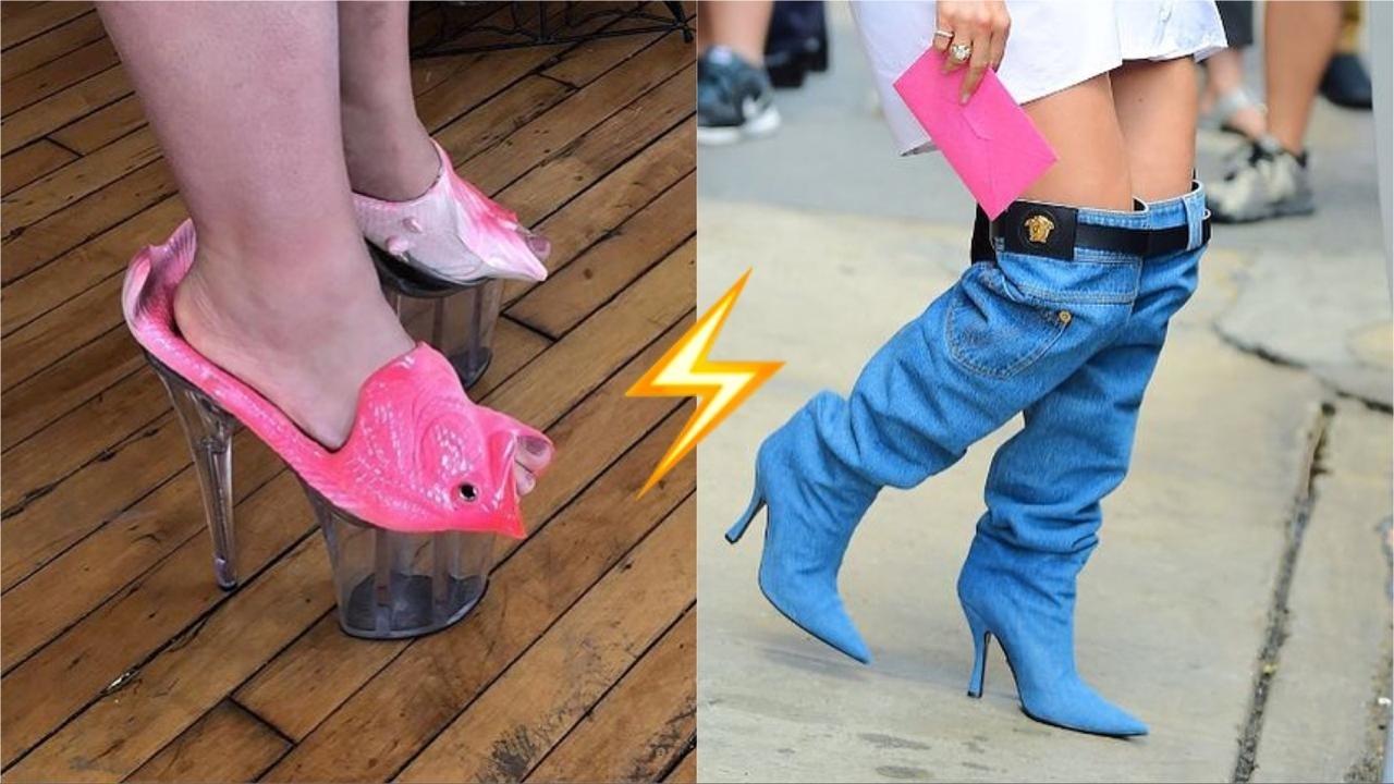 Шок: 10 самых уродливых дизайнерских пар обуви, от которых мурашки пойдут по коже