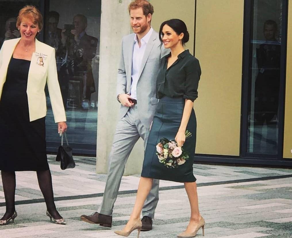 Принцессы тоже ходят в «коже»: Меган Маркл в дерзком образе покорила соцсети