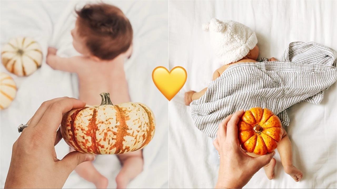 Тыква на попке: «мамский» тренд к Хэллоуину захватил Instagram